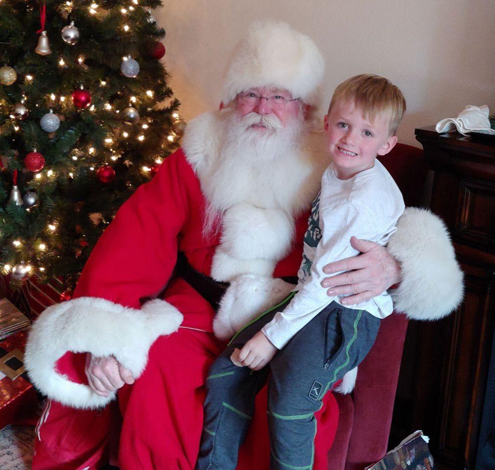 Luke's Memory of Santa