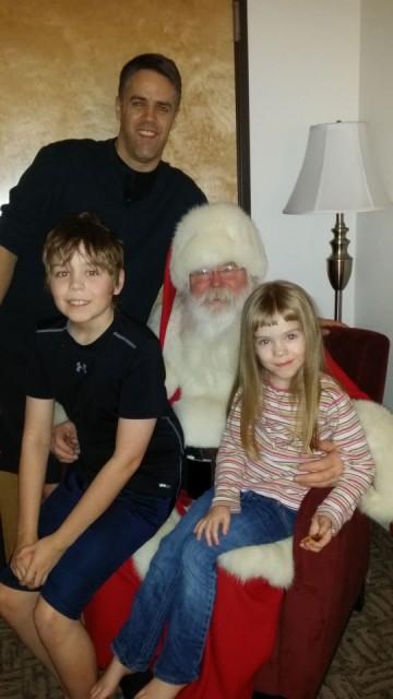 Santa Spotted at Hotel North Pole